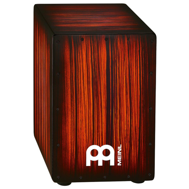 Meinl Headliner String Cajon - Rojo Tiger Stripe