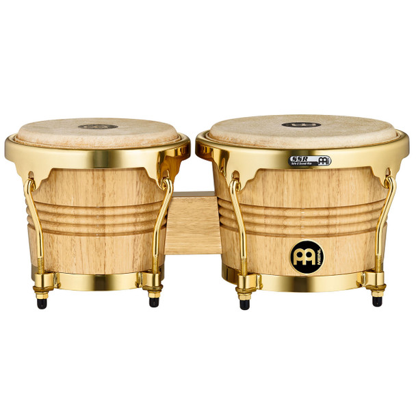 Meinl Wood Bongos with Buffalo Heads - Gold Hardware