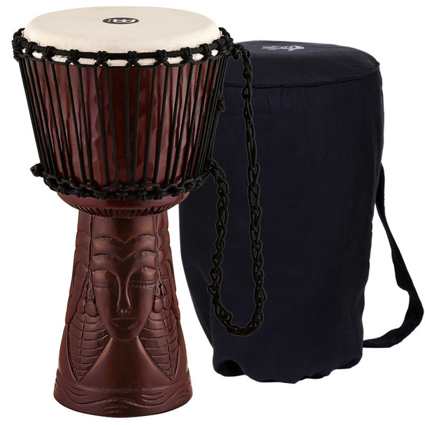 Meinl Professional 10-Inch African Queen Djembe with FREE Bag