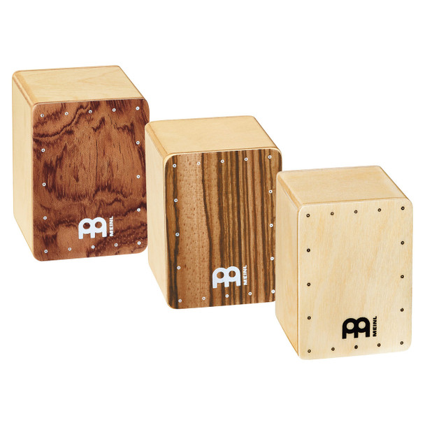 Meinl Mini Cajon Shaker Set, 3 Piece