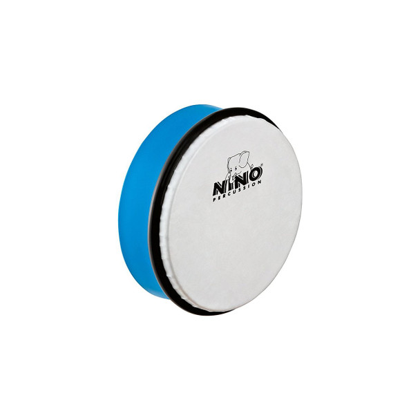 6-Inch ABS Plastic Hand Drum with Synthetic Head, Sky Blue