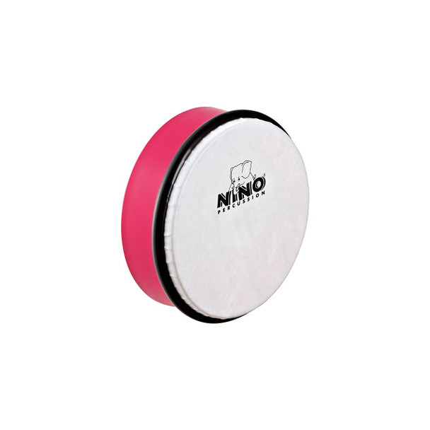 6-Inch ABS Plastic Hand Drum with Synthetic Head, Strawberry Pink