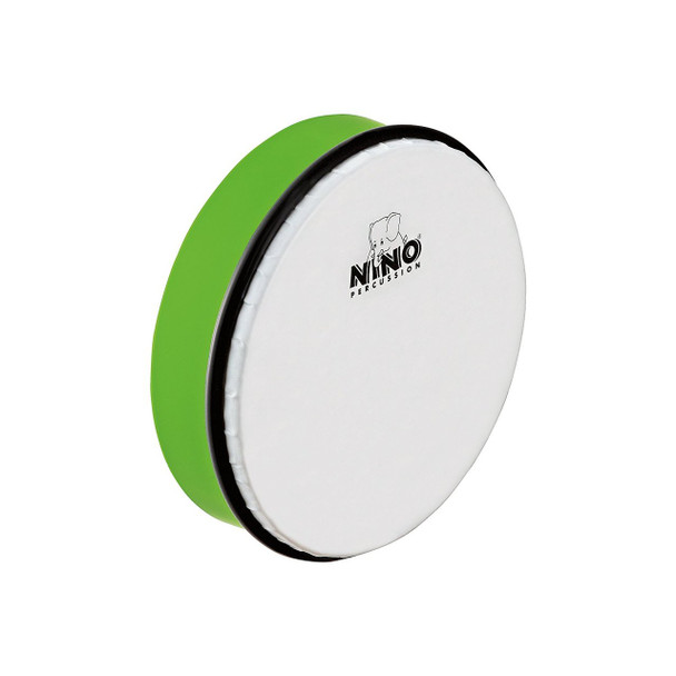 8-Inch ABS Plastic Hand Drum with Synthetic Head, Grass Green