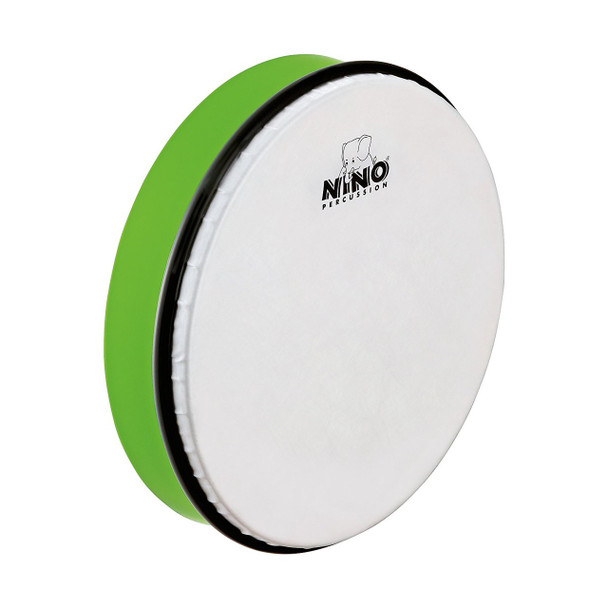 10-Inch ABS Plastic Hand Drum with Synthetic Head, Grass Green