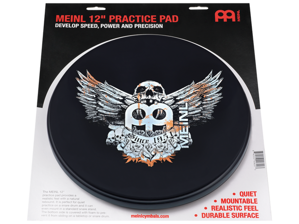 "12"" Practice Pad - Jawbreaker Design"
