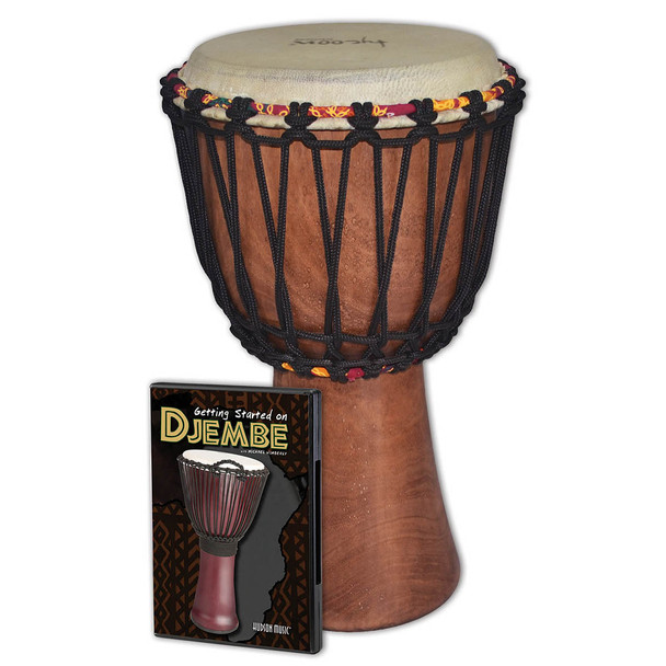 Tycoon Percussion Djembe w/ Getting Started DVD