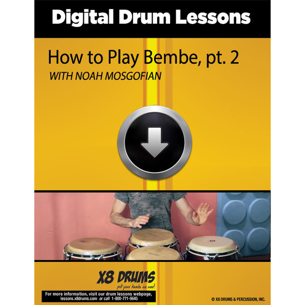 How to play Bembe on Congas (series), Part 2