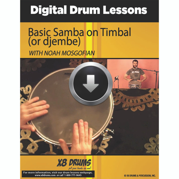 Basic Samba on Timbal (or djembe)