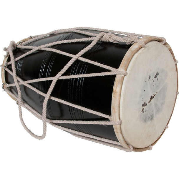 banjira Deluxe Delhi Style Cord and Ring Dholak *Blemished