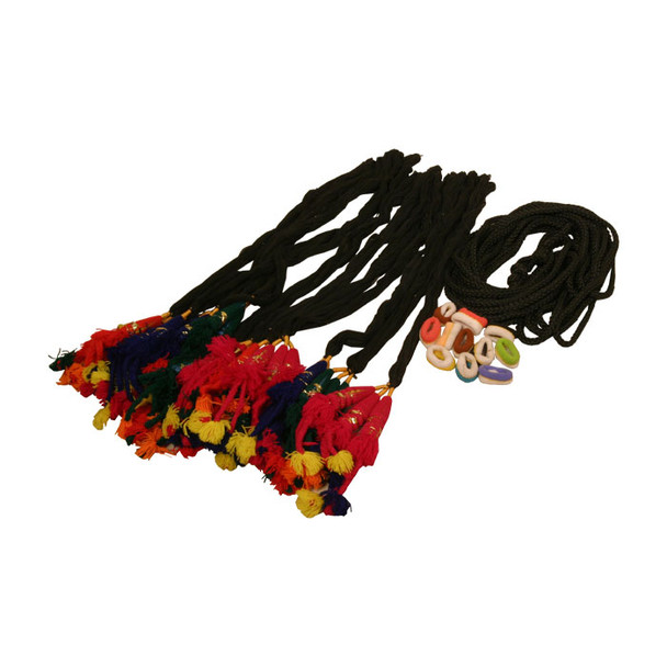 banjira Colorful Dhol Fringe and Cording - Full set