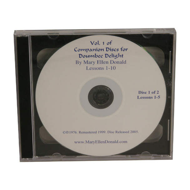 Doumbek Delight CD Volume 1 by Mary Ellen Donald