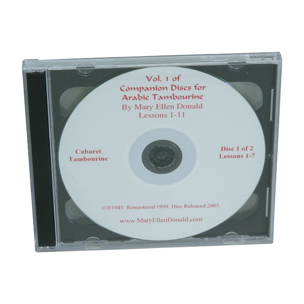 Arabic Tambourine CD Volume 1 by Mary Ellen Donald