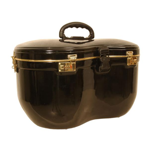 banjira Locking Fiberglass Case for Tabla Set - Black *Blemished