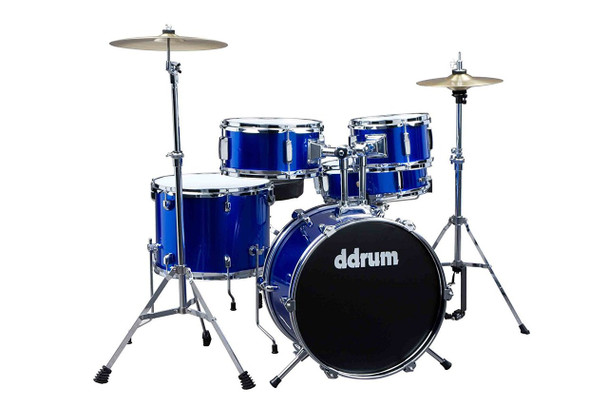 ddrum D1 JR Complete 5-piece Drum Set, Police Blue