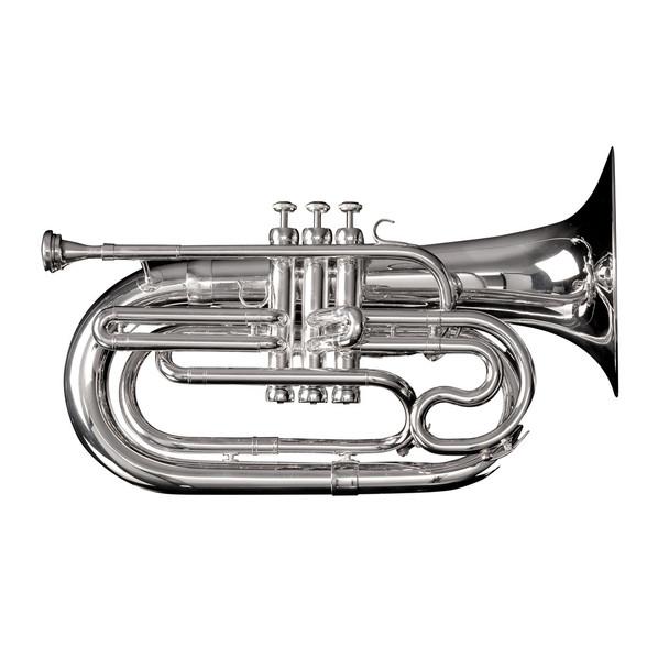 Adams MB1S Marching Baritone w/ Case, Silver