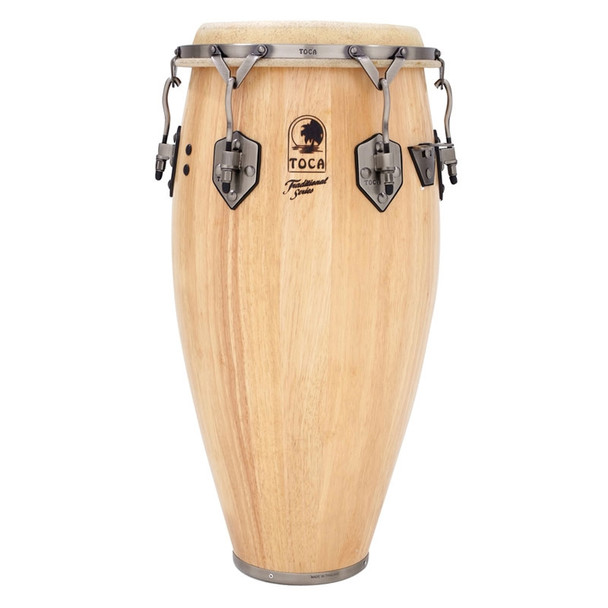 Toca Traditional 12-1/2 in. Tumba Conga Drum, Natural (3912-1/2T)