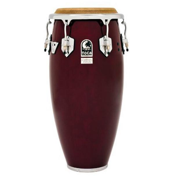 Toca 4611-DW Custom Deluxe 11 in. Quinto Conga Drum, Dark Wood