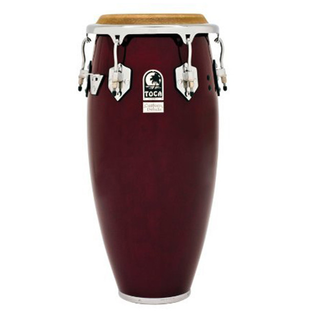 Toca 4611-3/4DW Custom Deluxe 11-3/4 in. Conga Drum, Dark Wood