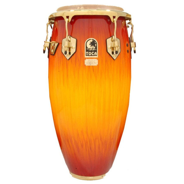 Toca Limited Edition 11-3/4 in. Conga Drum, Firestorm