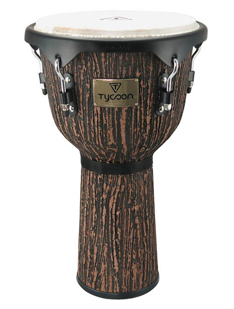 Tycoon Supremo Select Series Djembe W/ Lava Wood Finish