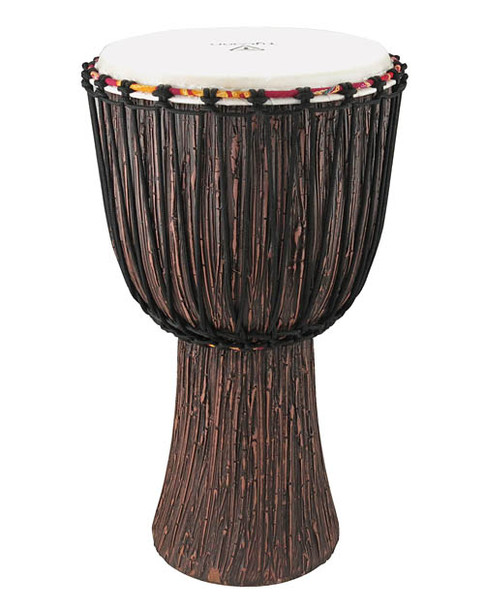 Tycoon Supremo Select Series 10 Inch Rope Tuned Djembe  W/ Lava Wood Finish