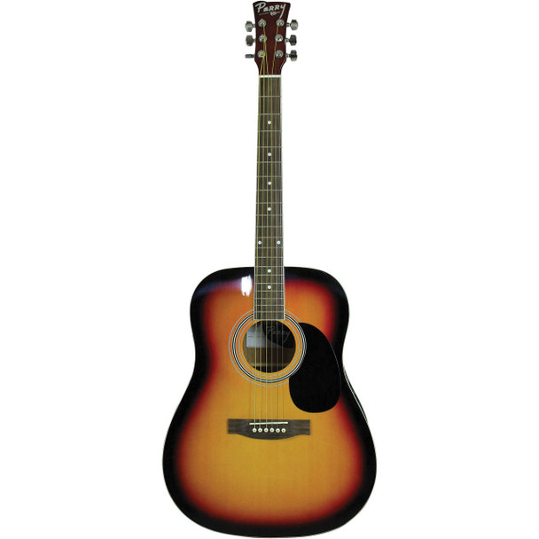 Perry Dreadnought Acoustic Guitar, Vintage Sunburst