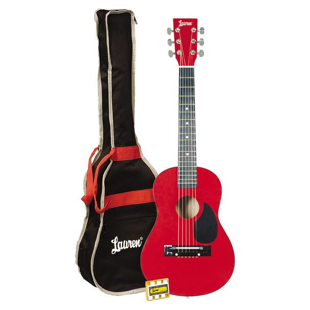 Lauren - 30in. Guitar Package Metallic Red