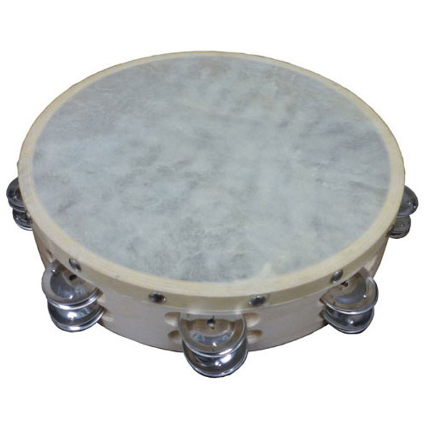"Cannon 10"" Double Row Tambourine"