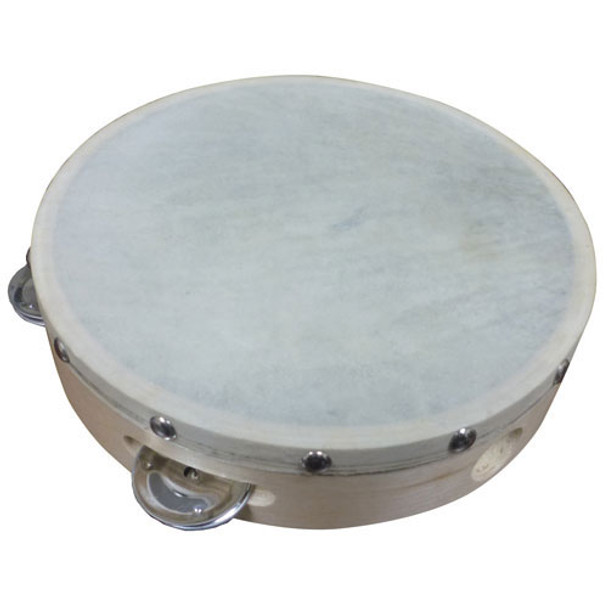 "Cannon 6"" Single Row Tambourine"