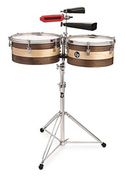 "LP Matador 13""/14"" Sheila E Signature Series Wood Timbale Set (M1314-SE)"