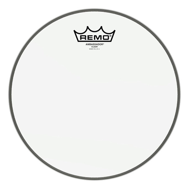 Remo Ambassador Clear Drum Head - 10 Inch (BA-0310-00)