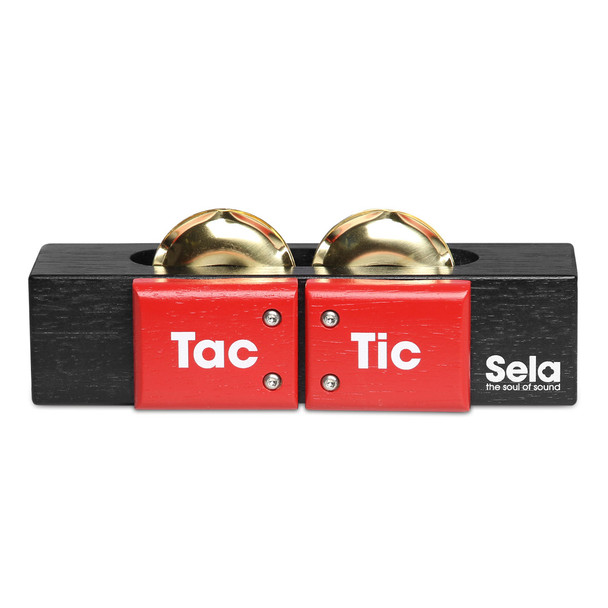 Sela Tac Tic Percussion Instrument