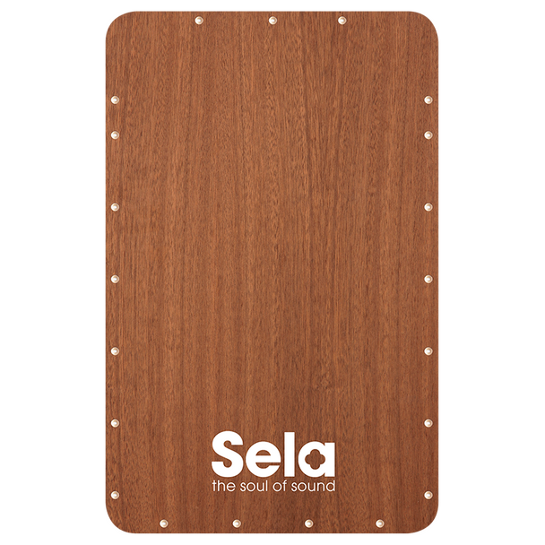 Sela Quick Assembly Kit Playing Surface - Sapele Veneer Replacement Front plate for SE037