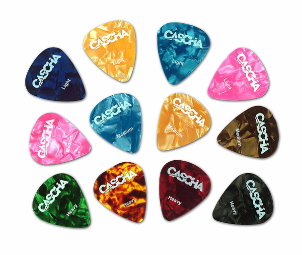 Cascha Guitar Pick Set (12 units)