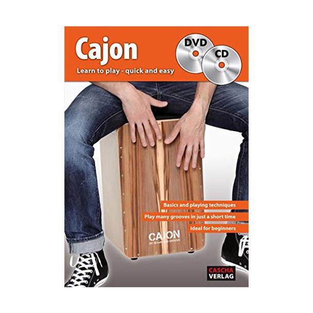 Learn to Play Cajon Book & DVD