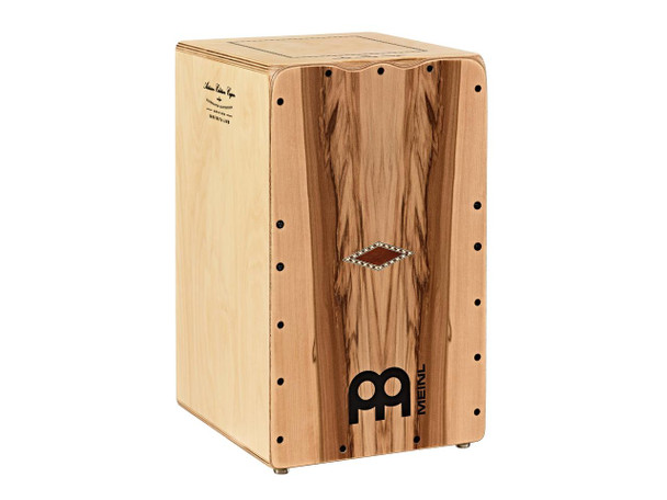 Meinl Artisan Edition Seguiriya Line Cajon with Indian Heartwood Frontplate