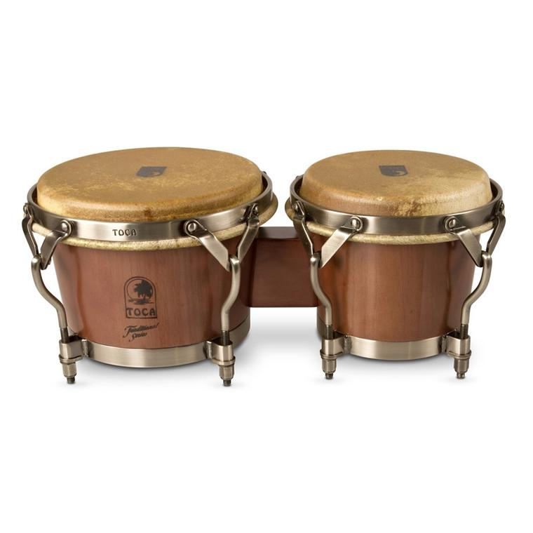 Toca Traditional Series Bongos, Dark Walnut (3900D)
