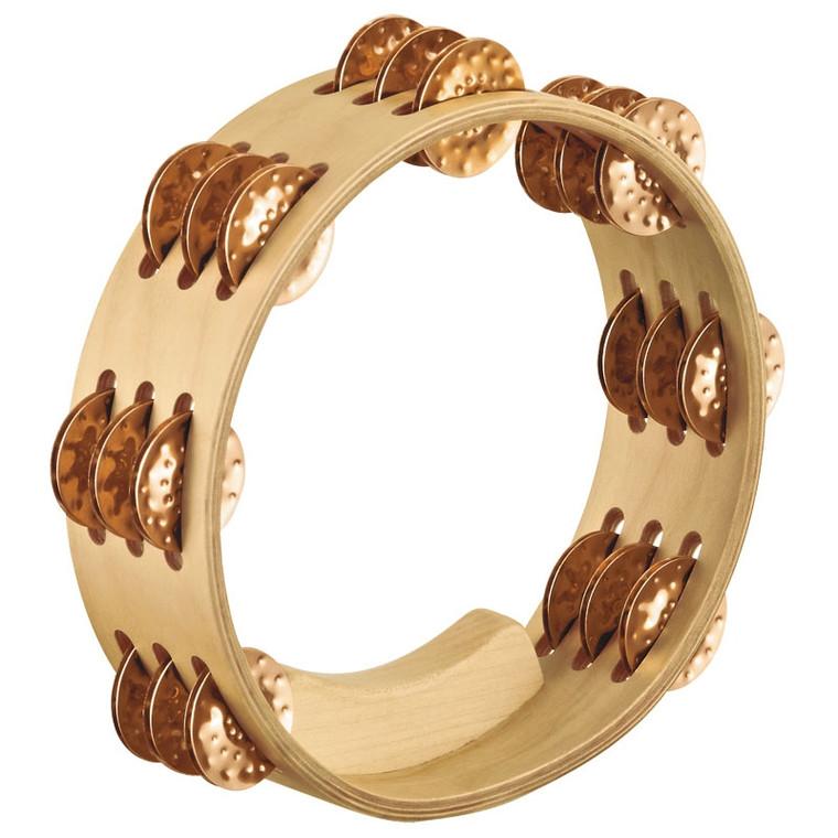 Meinl Artisan Compact Tambourine - Cymbal Bronze Jingles
