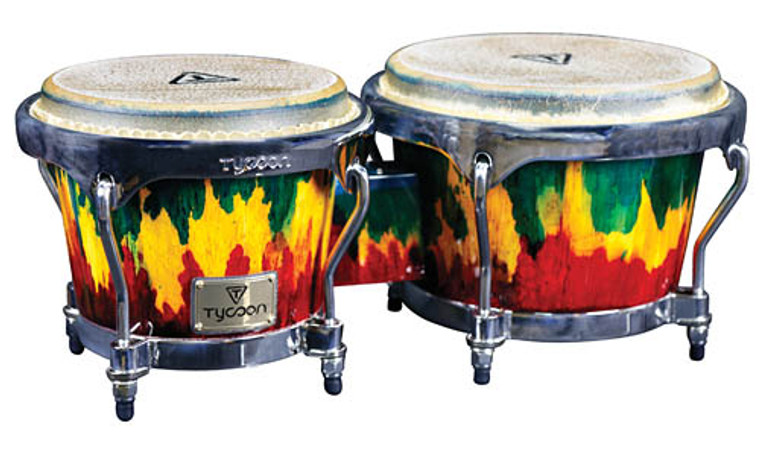 """Tycoon Percussion Master """"Palette"""" Series Bongos"""