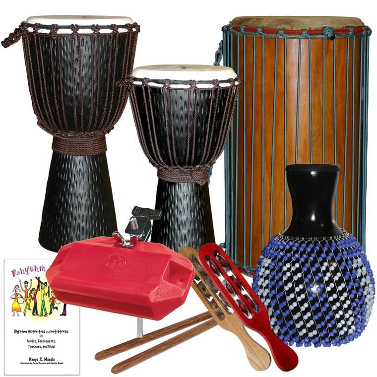 School Drumming Package #1, 10 Players