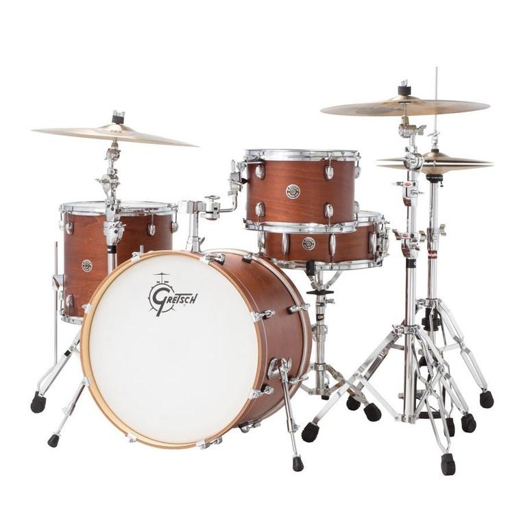 "Gretsch Drums Catalina Club 20"" Kick 4-Piece Shell Pack - Satin Walnut Glaze"