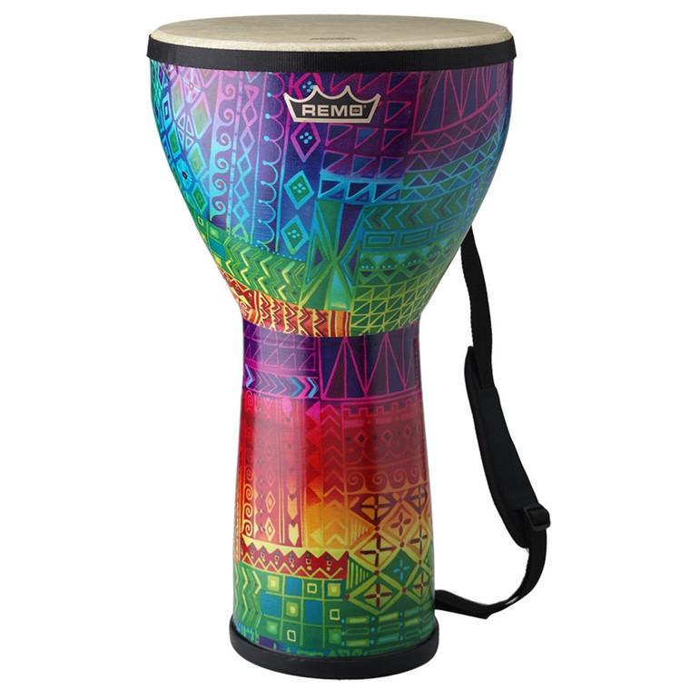 Remo Festival Djembe: Rainbow - Medium