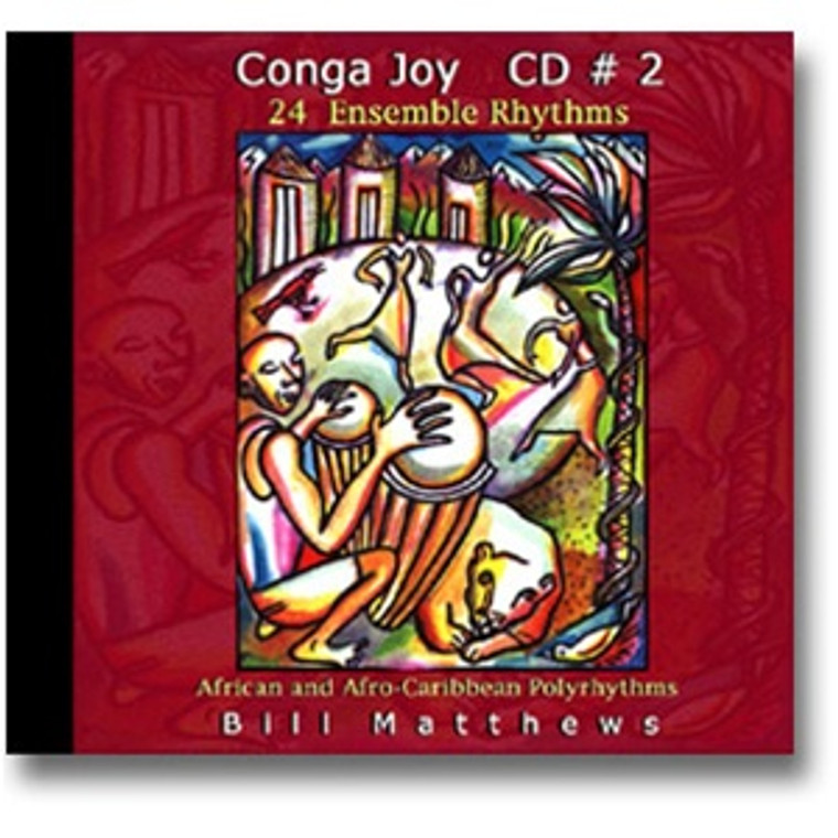 Djembe Ensemble Rhythms CD