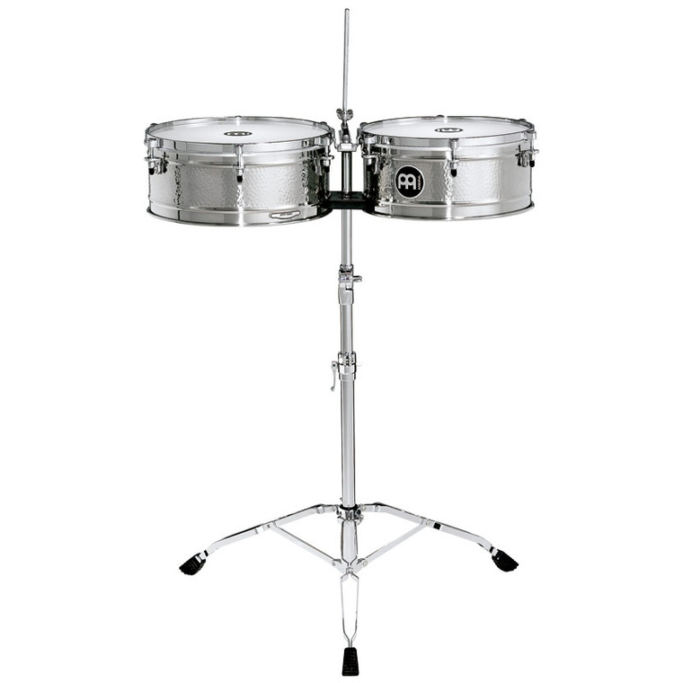 Meinl Luis Conte Signature Timbales, Stainless Steel