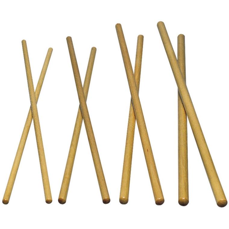 "LP Wood Timbale Stick, Ash, 1/2"" x 16-6/8"""