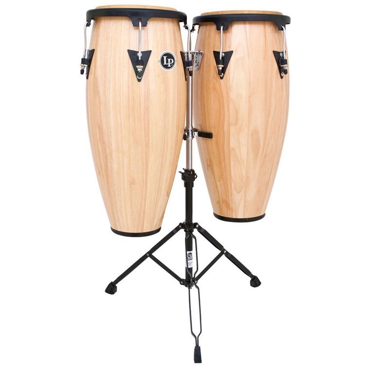 LP Aspire Wood Conga Set, Natural