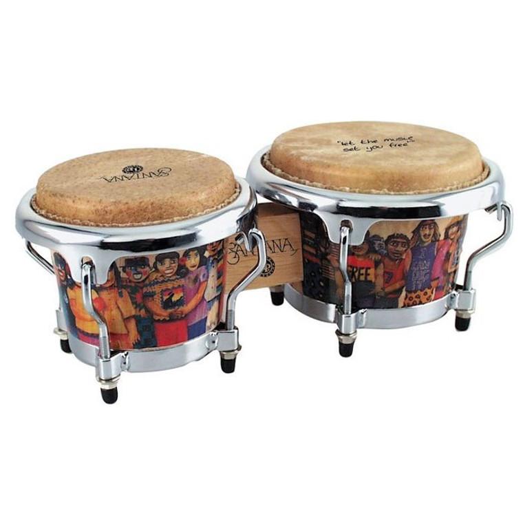 LP Santana Mini Tunable Bongos