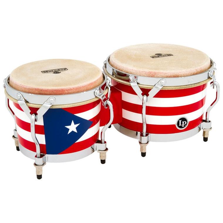 LP Matador Puerto Rican Heritage Wood Bongos
