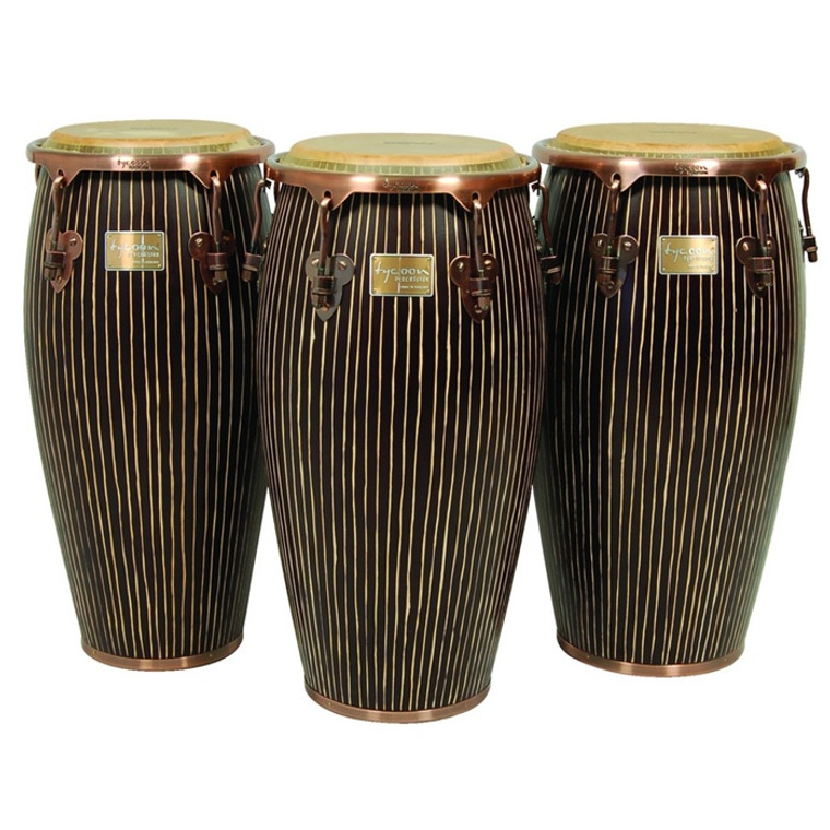 Tycoon Percussion Master Hand Crafted Pinstripe Series Congas