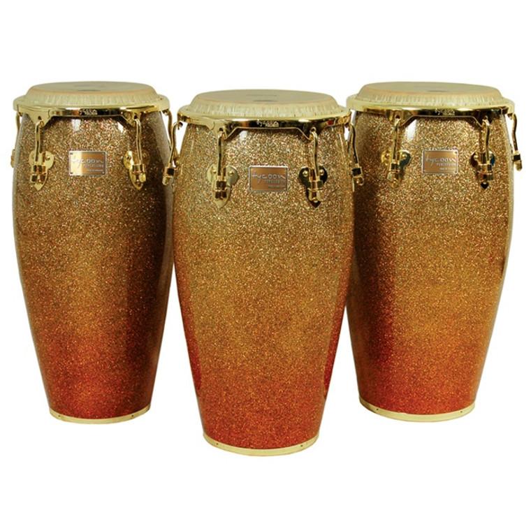 Tycoon Percussion Master Platinum Sunrise Series Congas